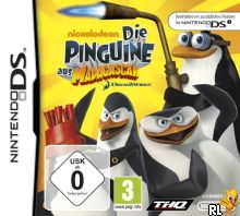 Penguins of Madagascar, The (Underdumped 511 Mbit)(DSi Enhanced) (E) Box Art