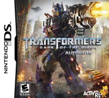 Transformers - Dark of the Moon - Autobots (U) Box Art