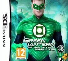 Green Lantern - Rise of the Manhunters (E) Box Art