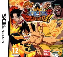 jeu ds one piece gigant battle