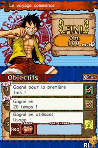 gratuitement one piece gigant battle ds