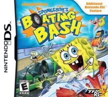 SpongeBob's Boating Bash (DSi Enhanced) (U) Box Art