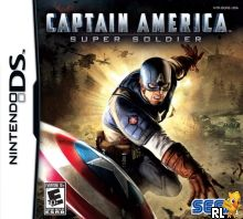 Captain America - Super Soldier (U) Box Art