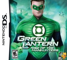 Green Lantern - Rise of the Manhunters (U) Box Art