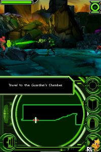 Green Lantern - Rise of the Manhunters (U) Screen Shot