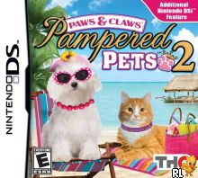 Paws & Claws - Pampered Pets 2 (DSi Enhanced) (U) Box Art