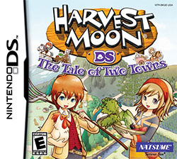 Harvest Moon DS - The Tale of Two Towns (U) Box Art