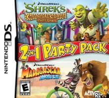 Dreamworks 2 in 1 Party Pack (U) Box Art