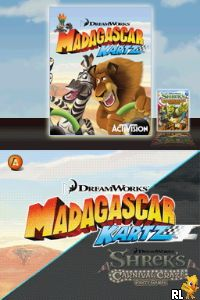 Dreamworks 2 in 1 Party Pack (U) Screen Shot