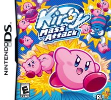 Kirby - Mass Attack (U) Box Art