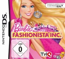 Barbie - Jet, Set & Style! (DSi Enhanced) (E) Box Art