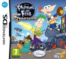 Phineas and Ferb - Across the 2nd Dimension (E) Box Art