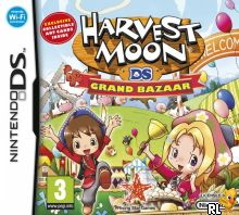 Harvest Moon - Grand Bazaar (E) Box Art