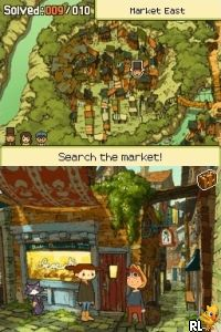 Professor Layton and the Last Specter (U) Screen Shot