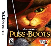 Puss In Boots (U) Box Art