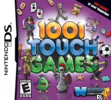 1001 Touch Games (U) Box Art