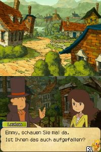Professor Layton und der Ruf des Phantoms (G) Screen Shot