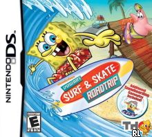 SpongeBob - Surf & Skate Roadtrip (U) Box Art