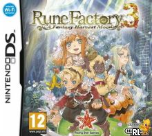 Rune Factory 3 - A Fantasy Harvest Moon (E) Box Art