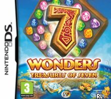 7 Wonders - Treasures of Seven (E) Box Art