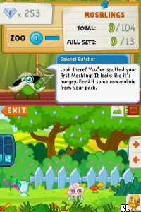 Moshi Monsters - Moshling Zoo (E) Screen Shot
