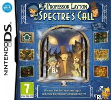 Professor Layton and the Spectre's Call (E) Box Art