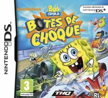SpongeBob's Boating Bash (DSi Enhanced) (E) Box Art